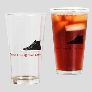 Shoe Love Drinking Glass