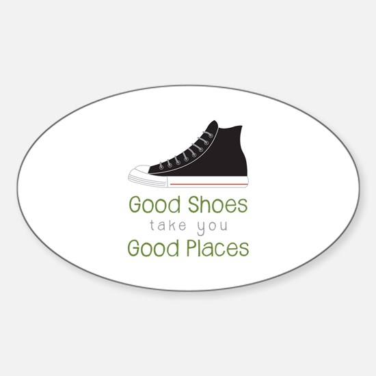 Good Shoes Decal
