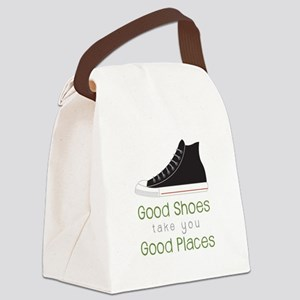 Good Shoes Canvas Lunch Bag