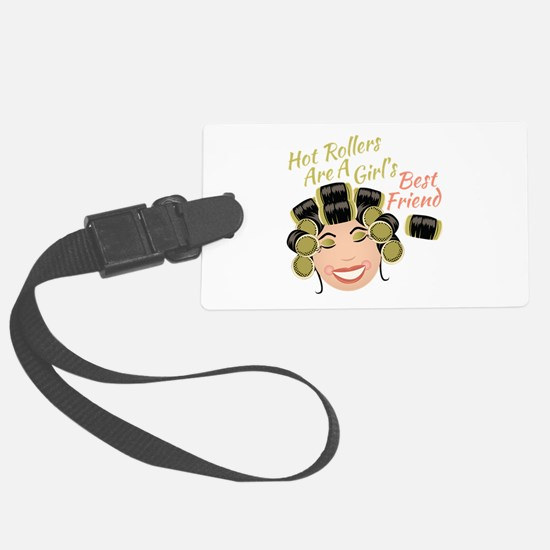 Hot Rollers Luggage Tag