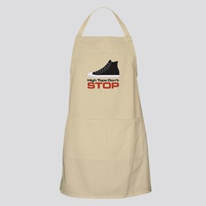 High Tops Dont Stop Apron