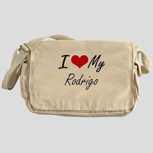 I Love My Rodrigo Messenger Bag
