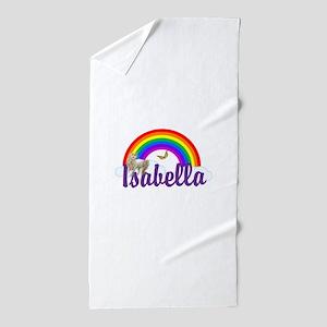 Unicorn Personalize Beach Towel