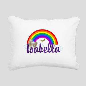 Unicorn Personalize Rectangular Canvas Pillow