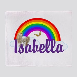 Unicorn Personalize Throw Blanket