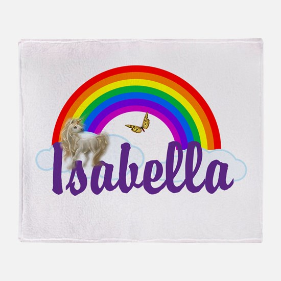 Unicorn Personalize Throw Blanket