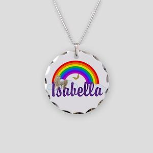 Unicorn Personalize Necklace Circle Charm
