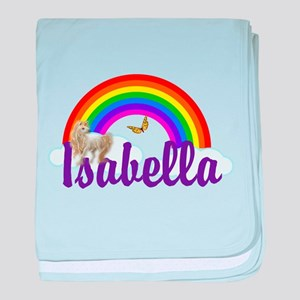 Unicorn Personalize baby blanket