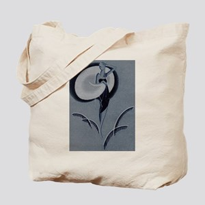 Art Deco Lady Tote Bag