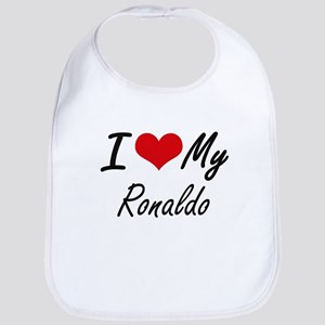 I Love My Ronaldo Bib