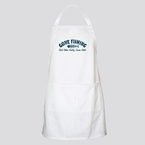 Gone Fishing BBQ Apron