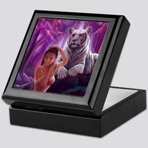 Muse and Tiger Keepsake Box