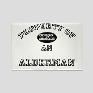 Property of an Alderman Rectangle Magnet