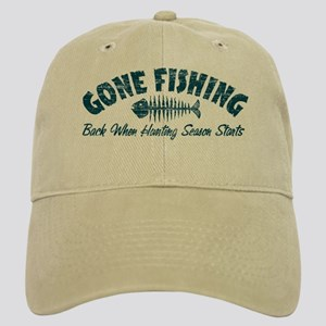 Funny Gone Fishing Hats - CafePress 9697b9f6fc9