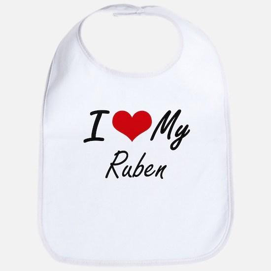 I Love My Ruben Bib