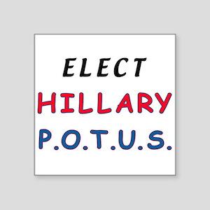 Hillary POTUS Sticker