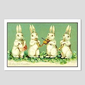 Vintage Musical Easter Postcards (package Of 8)