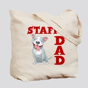 STAFFY DAD (both sides) Tote Bag