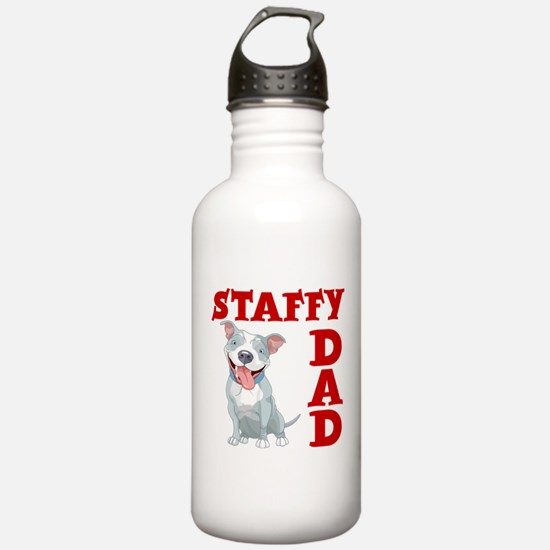 STAFFY DAD Water Bottle