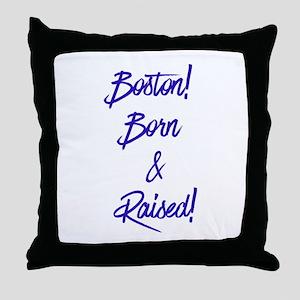 Boston! Throw Pillow