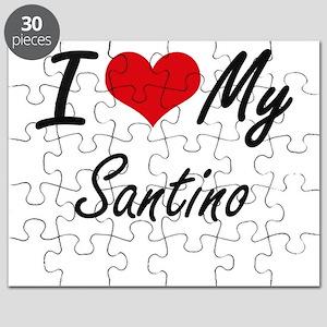 I Love My Santino Puzzle