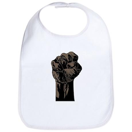 The Black Fist Bib