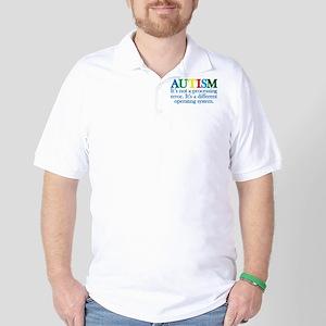 Autism processing error Golf Shirt