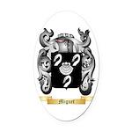 Miguet Oval Car Magnet