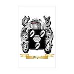 Miguet Sticker (Rectangle 10 pk)
