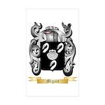Miguet Sticker (Rectangle 50 pk)