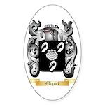 Miguet Sticker (Oval 10 pk)