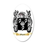 Miguet 20x12 Oval Wall Decal
