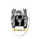 Miguet 35x21 Oval Wall Decal