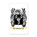 Miguet 20x12 Wall Decal
