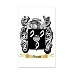 Miguet 35x21 Wall Decal