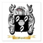 Miguel Square Car Magnet 3