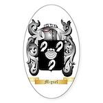 Miguel Sticker (Oval 10 pk)
