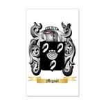 Miguel 35x21 Wall Decal