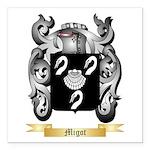 Migot Square Car Magnet 3