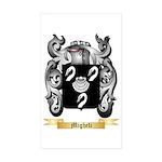 Migheli Sticker (Rectangle 10 pk)