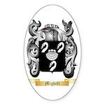 Migheli Sticker (Oval 50 pk)