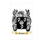 Mighele Sticker (Rectangle 10 pk)