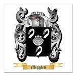 Miggles Square Car Magnet 3