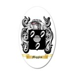 Miggles 35x21 Oval Wall Decal