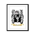 Miggles Framed Panel Print