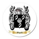 Migalli Round Car Magnet