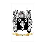 Migalli Sticker (Rectangle 50 pk)