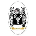 Migalli Sticker (Oval 10 pk)