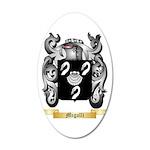 Migalli 35x21 Oval Wall Decal