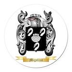 Migalizzi Round Car Magnet